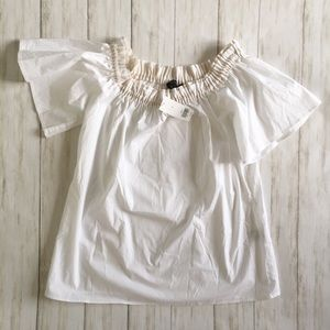 NWT Banana Republic Off-Shoulder Shirt
